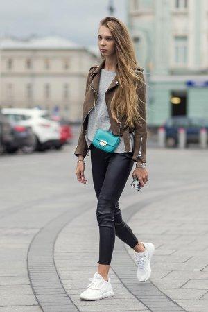 Kate Fedulova Street Style at Mercedes-Benz Fashion Week Russia