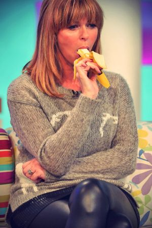Kate Garraway on CH4 Sunday Brunch