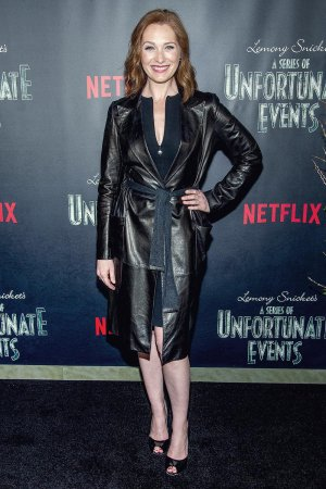 Kate Jennings Grant attends Lemony Snicket's A Series Of Unfortunate Events Screening