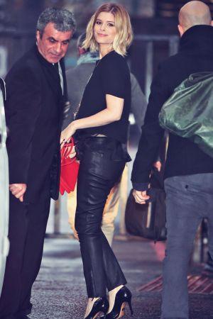 Kate Mara outside the ITV Studios London