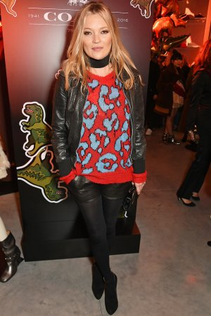 Kate Moss attends the launch of Coach House Regent Street
