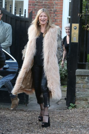 Kate Moss heads to the Cotswolds to celebrate her 41st birthday