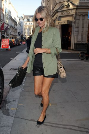 Kate Moss shopping on Bond Street
