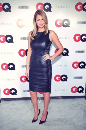 Kate Upton attends the GQ Super Bowl Party 2014
