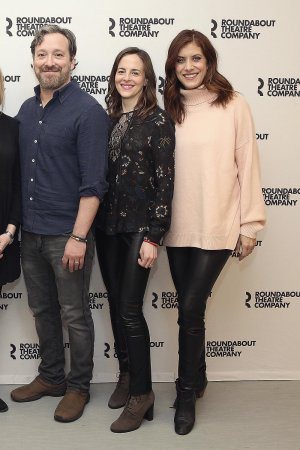 Kate Walsh and Maria Dizzia attend If I Forget Cast Photocall