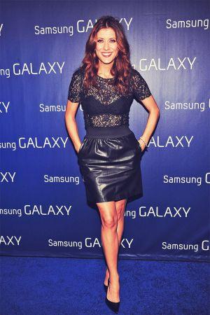 Kate Walsh attends the Samsung Galaxy Shanri-La Party