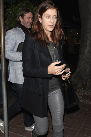 Kate Walsh dines at Madeo restaurant