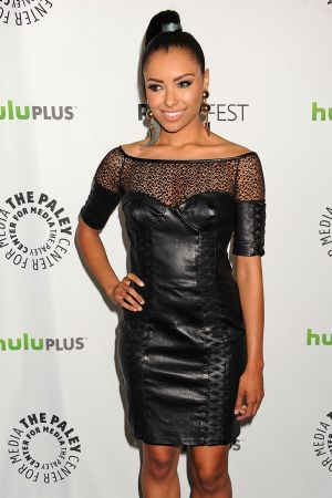 Katerina Graham at PaleyFest honoring The Vampire Diaries in Beverly Hills