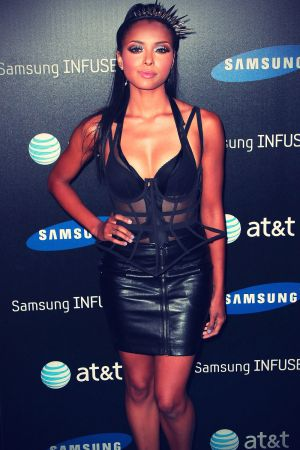 Katerina Graham at Samsung Infuse 4G