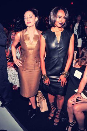 Katerina Graham attends Carolina Herrera Spring 2014 fashion show