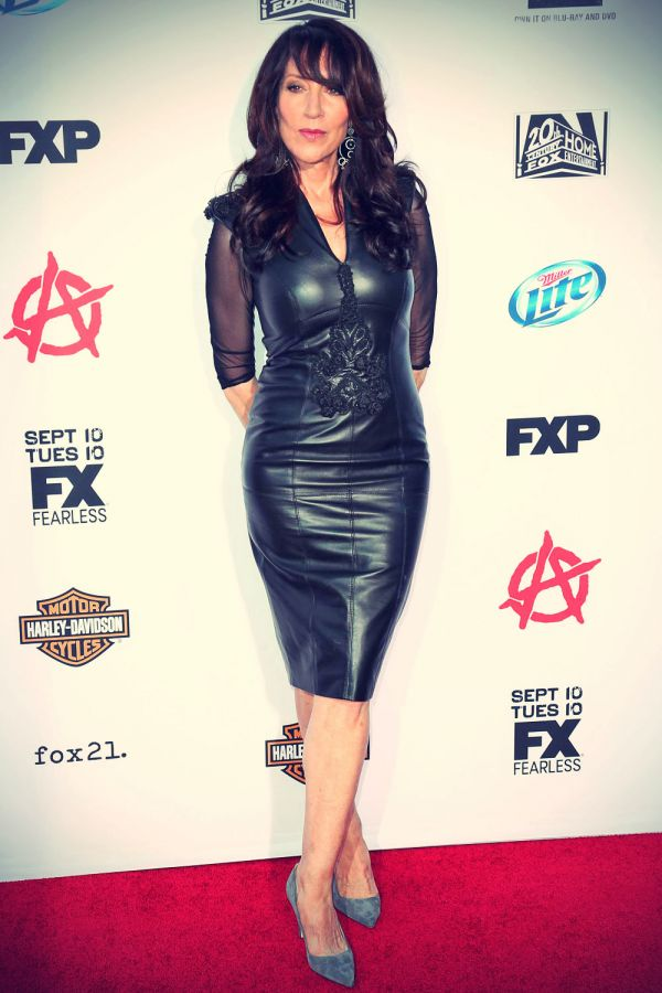 Katey Sagal attends Season 6 Premiere of FX's Sons Of ... Katey Sagal Leather