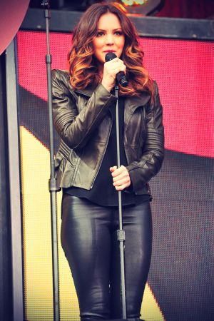 Katharine Mcphee Leather Pants Leather Celebrities