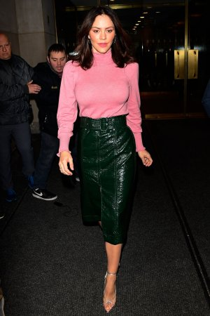 Katharine McPhee leaving The Today Show