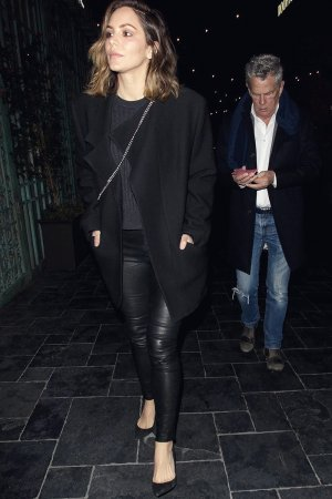 Katharine McPhee out to Dinner with David Foster