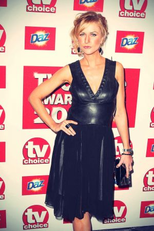 Katherine Kelly attends TV Choice Awards