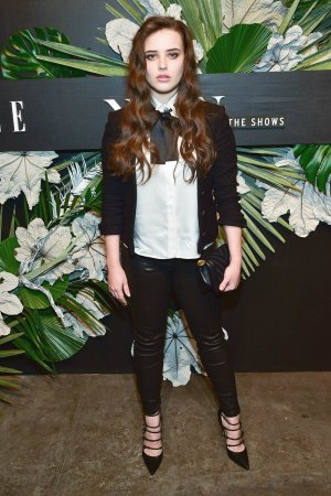 Katherine Langford attends E!, ELLE & IMG Fashion Week Kick-Off