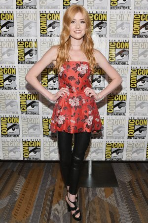 Katherine McNamara attends Freeform Panel Comic Con 2017