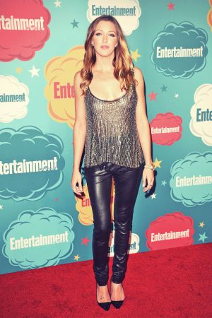 Katie Cassidy at Entertainment Weekly's annual Comic-Con celebration