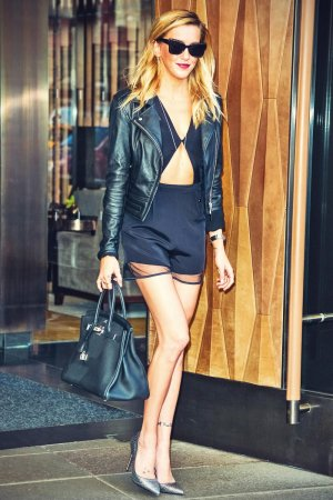 Katie Cassidy out and about in NYC