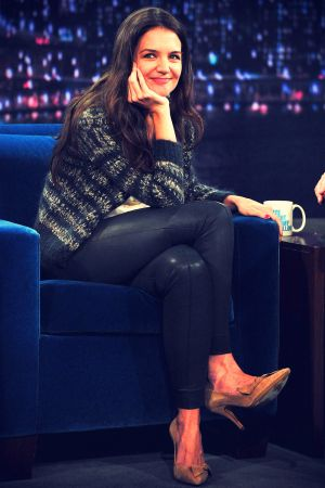 Katie Holmes at Late Night With Jimmy Fallon