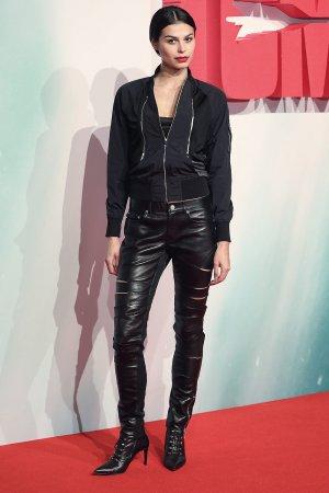 Katie Keight at Tomb Raider European Premiere