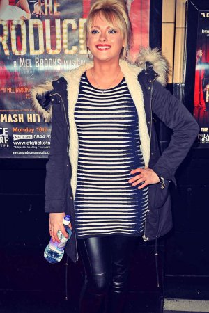 Katie McGlynn at The Producers Press night