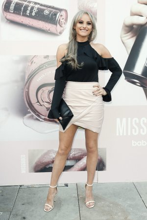 Katie McGlynn attends Missguided Babe Power Perfume Launch