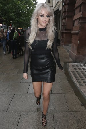 Katie McGlynn heads out in Manchester