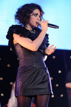 Katie Melua at Commercial Radio Awards