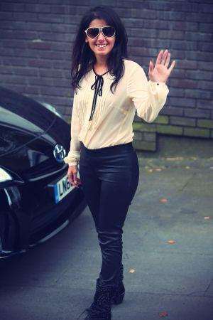 Katie Melua at the ITV Studios