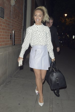 Katie Piper attends Strictly Come Dancing: It Takes Two Filming