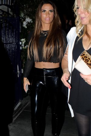 Katie Price at Chris Eubank's birthday party