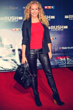 Celebrities in Leather Pants
