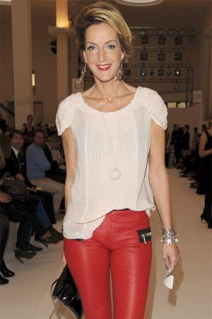 Katja Kessler at Fashion Week Berlin