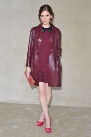 Katy Mara at Miu Miu Fashion Show
