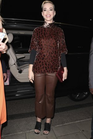 Katy Perry at China Tang restaurant
