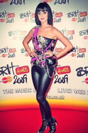Katy Perry at the 2009 Brit Awards