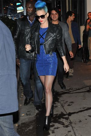 Katy Perry leaving the Montana Club in Paris
