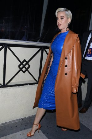 Katy Perry seen at Roosevelt Hotel