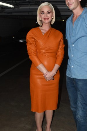 Katy Perry seen for the first time since grand mothers death
