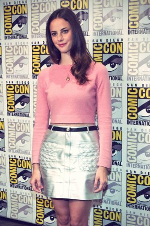 Kaya Scodelario attends Comic-Con International 2014