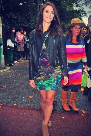 Kaya Scodelario attends Topshop Unique Autumn/Winter 2013/14