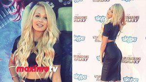 Kelli Berglund attends Guardians of the Galaxy World Premiere Red Carpet