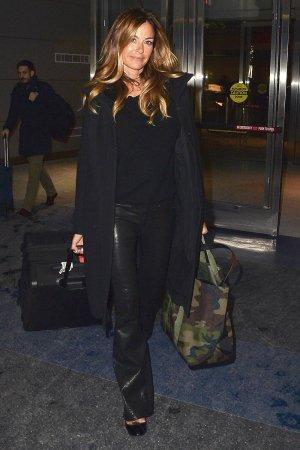 Kelly Bensimon is seen walking in JFK Airport