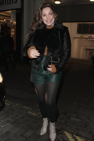 Kelly Brook at Heart Radio