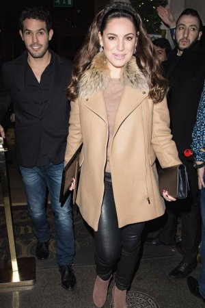Kelly Brook at Steam & Rye