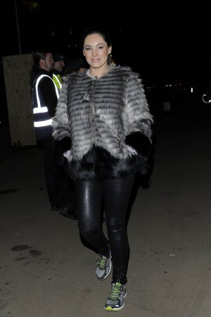 Kelly Brook attends Winter Wonderland 2014