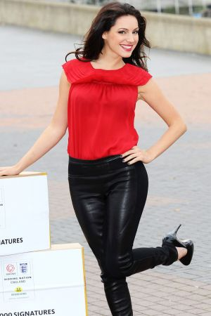 Kelly Brook Back The Bid Photocall