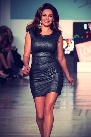 Kelly Brook The Look fashion show