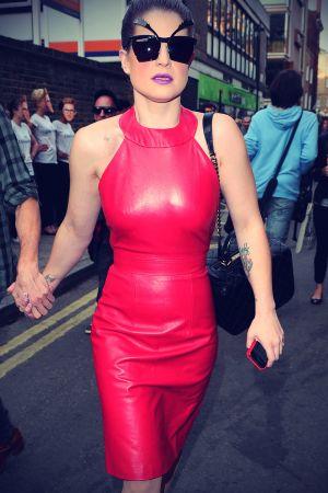 Kelly Osbourne arriving at Somerset House